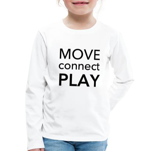 Move Connect Play - AcroYoga International - Kids' Premium Longsleeve Shirt