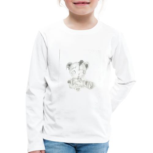 Broken teddybear - Kinderen Premium shirt met lange mouwen