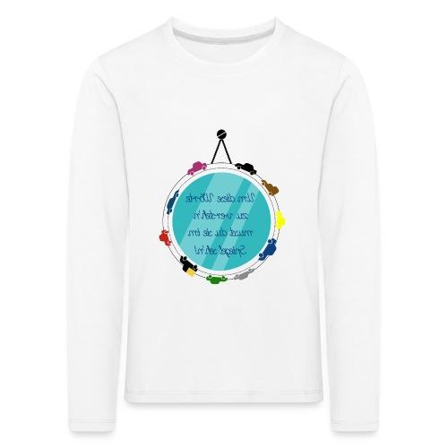 Spiegelschrift - Kinder Premium Langarmshirt