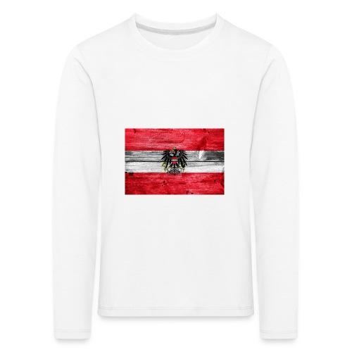 Austria Holz - Kinder Premium Langarmshirt