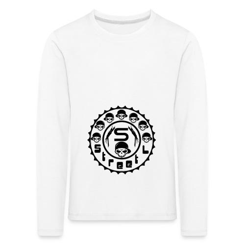 rawstyles rap hip hop logo money design by mrv - Koszulka dziecięca Premium z długim rękawem