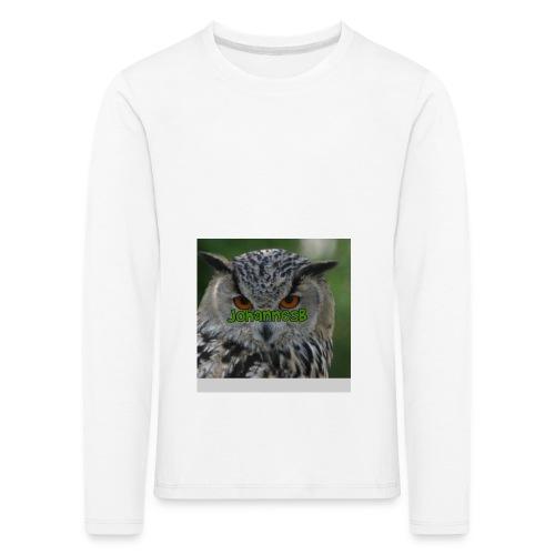 JohannesB lue - Premium langermet T-skjorte for barn