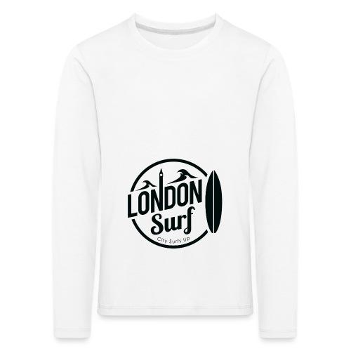 London Surf - Black - Kids' Premium Longsleeve Shirt