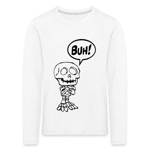 Funny Skelett 1 buh (2f) - Kinder Premium Langarmshirt