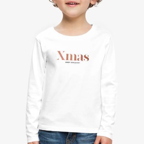 Kerstmis - Kinderen Premium shirt met lange mouwen