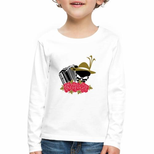 Rock Harmonika - Kinder Premium Langarmshirt
