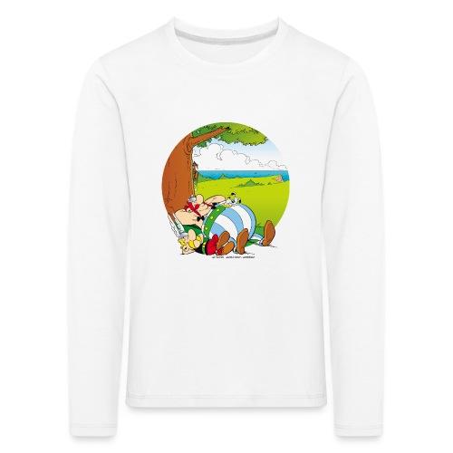Astérix & Obélix Font Une Sieste - T-shirt manches longues Premium Enfant