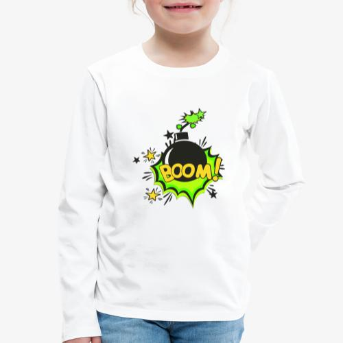 Serie Animaciones de los 80´s - Camiseta de manga larga premium niño