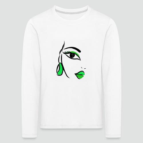 Face - Kinder Premium Langarmshirt