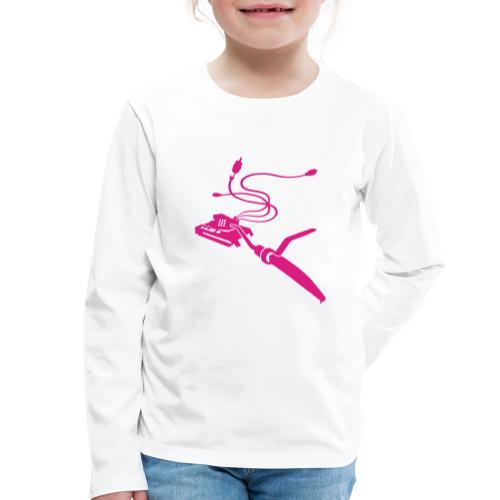 Vinyl-TankAssault - Kinder Premium Langarmshirt