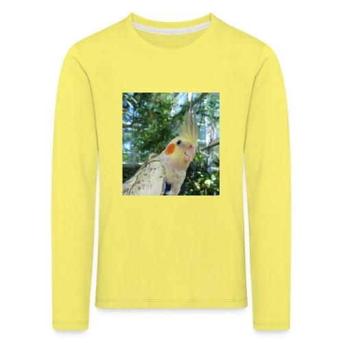 ninjanen - Lasten premium pitkähihainen t-paita