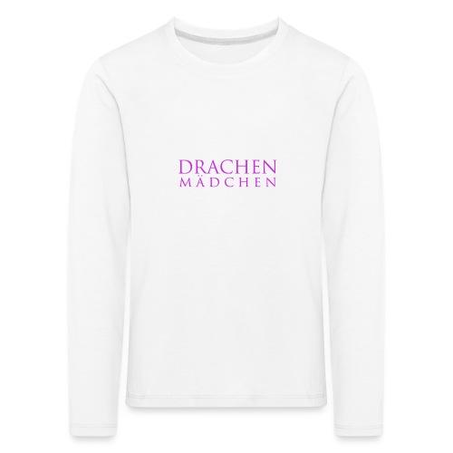 Drachenmaedchen - Kinder Premium Langarmshirt