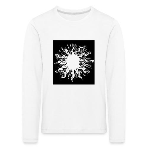 sun1 png - Kids' Premium Longsleeve Shirt