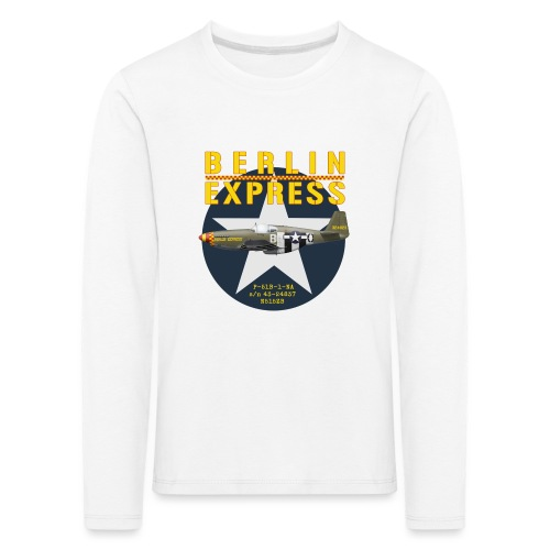 P-51B Berlin Express - T-shirt manches longues Premium Enfant