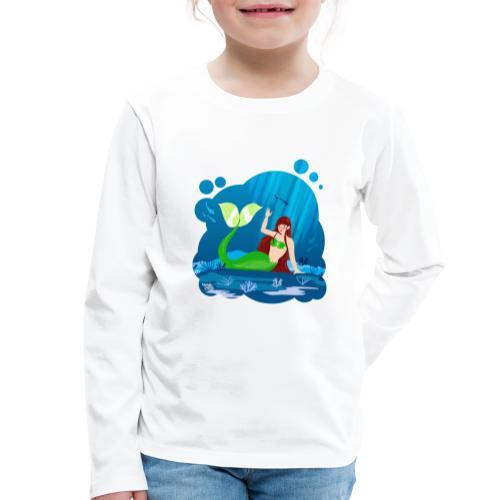 Sirène - T-shirt manches longues Premium Enfant