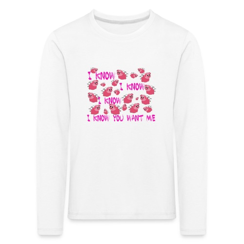 SWINE taza - Camiseta de manga larga premium niño