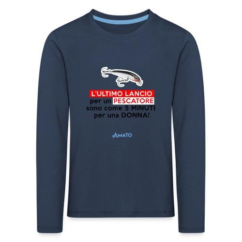 L'ultimo lancio - Maglietta Premium a manica lunga per bambini