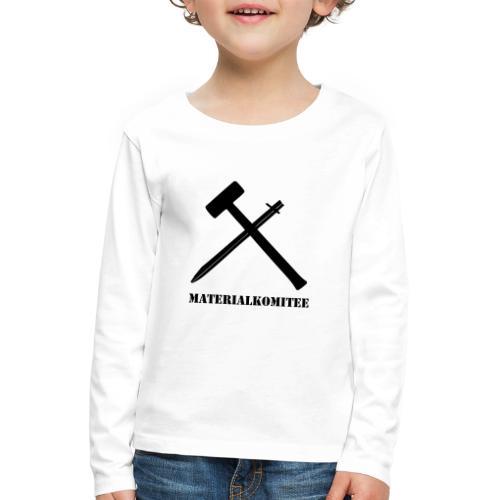 Materialkomitee - Kinder Premium Langarmshirt
