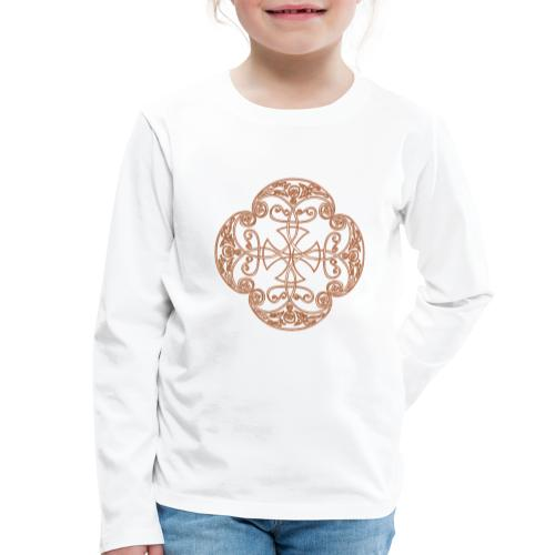 Anglian gold (Mellowed) - Kids' Premium Longsleeve Shirt