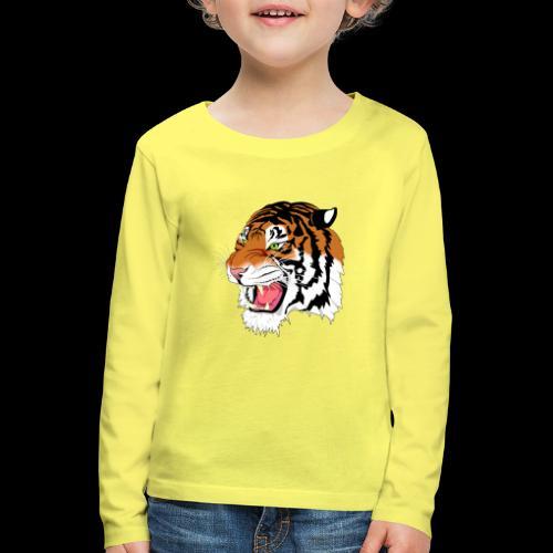 Sumatra Tiger - Kinder Premium Langarmshirt