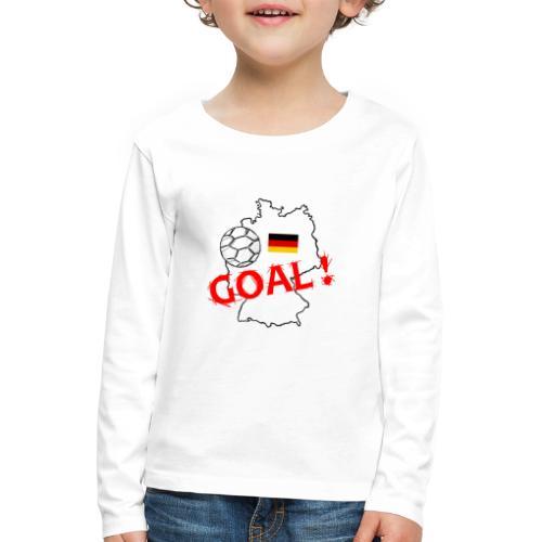 football allemagne - T-shirt manches longues Premium Enfant