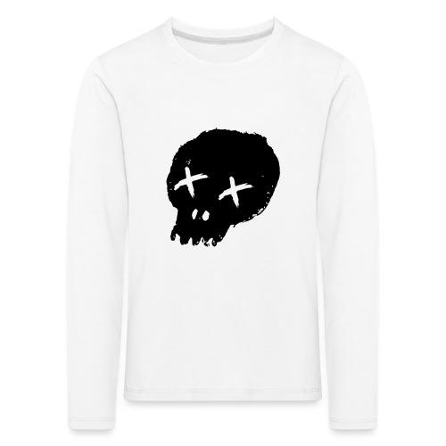 blackskulllogo png - Kids' Premium Longsleeve Shirt