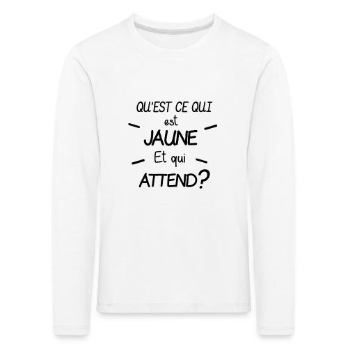 Edition Limitée Jonathan - T-shirt manches longues Premium Enfant