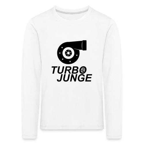 Turbojunge! - Kinder Premium Langarmshirt