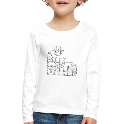 hamstris - Kinder Premium Langarmshirt