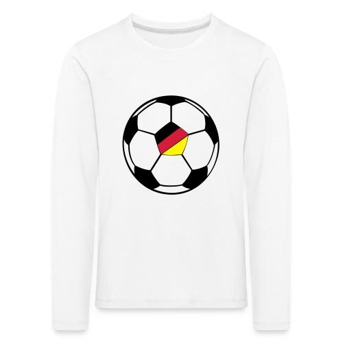 fussball deutschland - Kinder Premium Langarmshirt