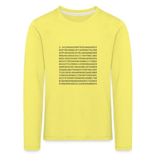 PI - Kids' Premium Longsleeve Shirt