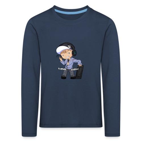 Kapuze Komma Näher mit Text by ShinaiShadow2 png - Kinder Premium Langarmshirt