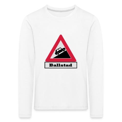 brattv ballstad a png - Premium langermet T-skjorte for barn