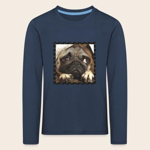 Mops Hund 1 - Kinder Premium Langarmshirt