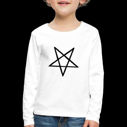Pentagram2 png - Kinder Premium Langarmshirt