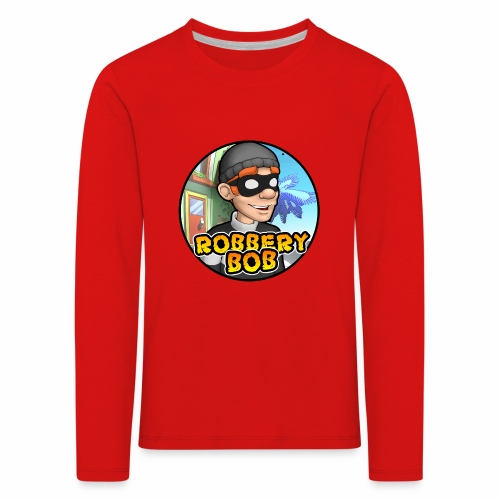 Robbery Bob Button - Kids' Premium Longsleeve Shirt
