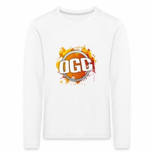 Merchlogo mega png - Kinderen Premium shirt met lange mouwen
