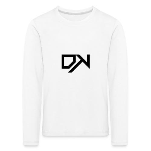 DewKee Logo T-Shirt Black - Kids' Premium Longsleeve Shirt