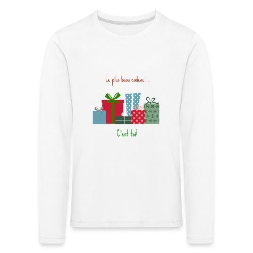 Le plus beau cadeau - T-shirt manches longues Premium Enfant