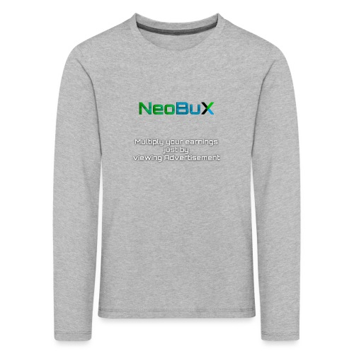 NeoBuX - Kids' Premium Longsleeve Shirt
