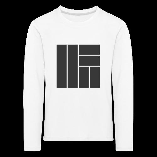 NÖRCup Black Iconic Edition - Kids' Premium Longsleeve Shirt