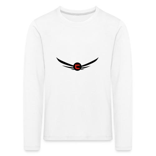 cloudy_v2_png-png - Långärmad premium-T-shirt barn