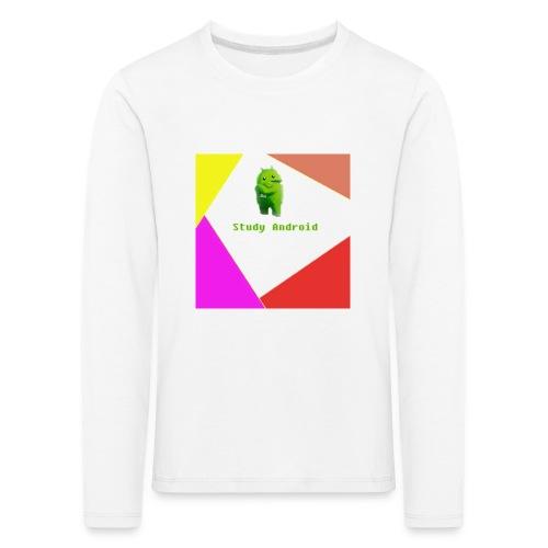 Study Android - Camiseta de manga larga premium niño