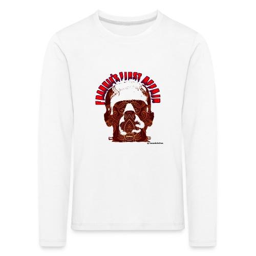 Frankie first affair - Camiseta de manga larga premium niño