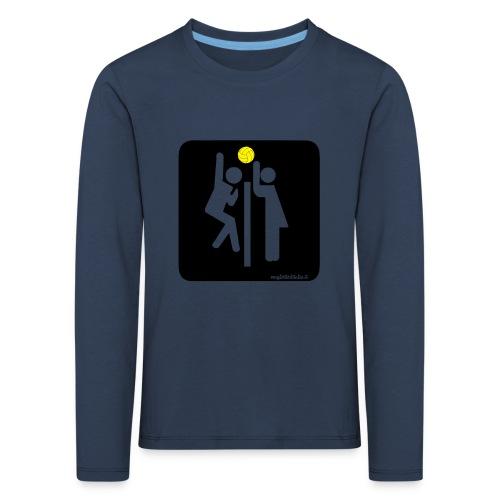 Toilet Volley - Maglietta Premium a manica lunga per bambini