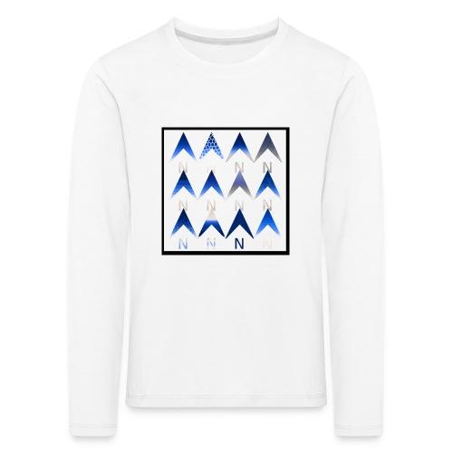 Noordpijlen - Kinderen Premium shirt met lange mouwen