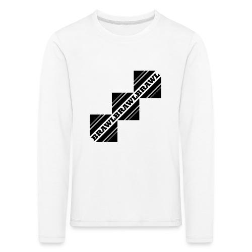BRAWL TEST - Kinderen Premium shirt met lange mouwen