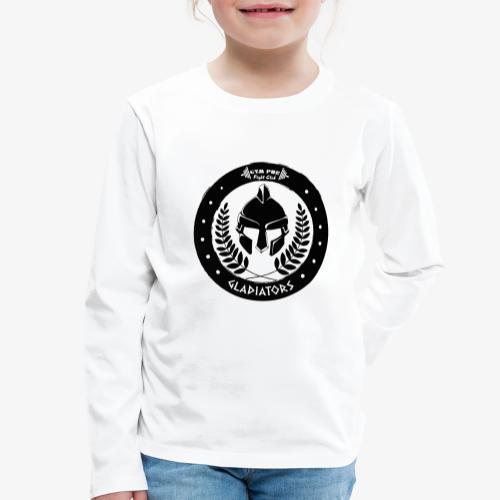 Gym Pur Gladiators Logo - Kids' Premium Longsleeve Shirt
