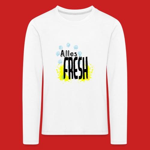 Alles Fresh / Frisch Sommer Eis - Kinder Premium Langarmshirt
