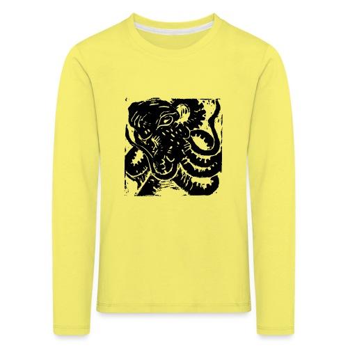 Museum Collection Octopus - Kids' Premium Longsleeve Shirt